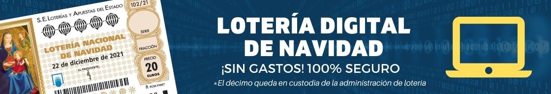 Sistema de décimo digital - Lotería de navidad digital