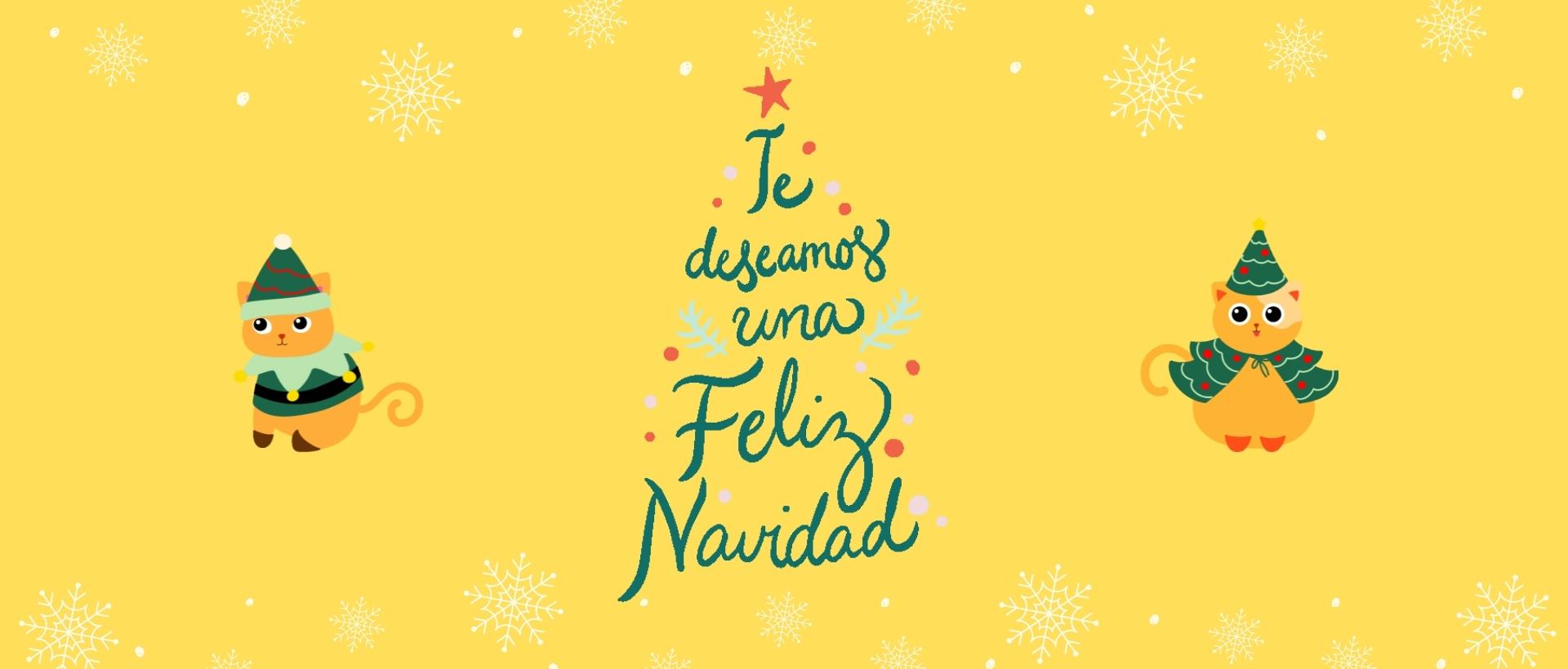 Te deseamos una feliz Navidad